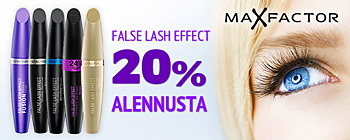 Max Factor False Lash Effects ripsivärit - 20% alennusta!