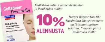 10% alennusta tuotteesta Colladeen Derma Plus!