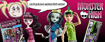 Monster High - Uutuuksia!