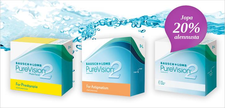 Purevision 2 - jopa 20% alennusta!