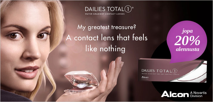 Dailies Total1 - 20% alennusta!