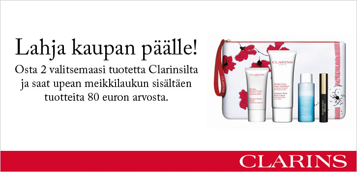 Clarins - Lahja kaupan päälle