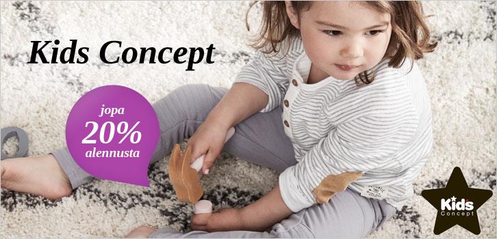 Kids Concept - Jopa 20% alennusta
