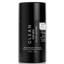 Clean for Men Black Leather - Deodorant Stick