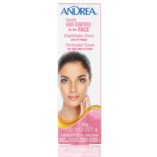 Andrea Gentle Hair Remover Face 1 set
