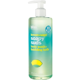 Lemon + Sage Soapy Suds - Body Wash & Bath