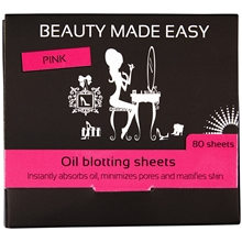 Pink Oil Blotting Sheets
