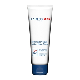 ClarinsMen Active Face Wash - Foaming Gel - 125ml