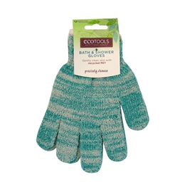 Ecotools Recycled Bath & Shower Gloves