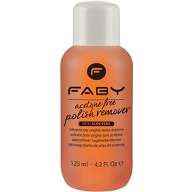 Faby Acetone Free Remover