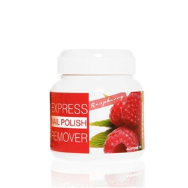 Express Nail Polish Remover Raspberry