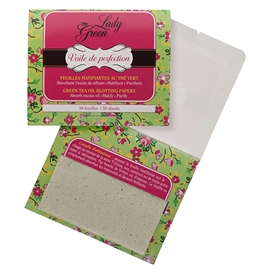 Voile De Perfection - Oil Blotting Paper Green Tea
