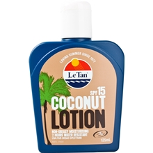 Le Tan Coconut Lotion SPF 15