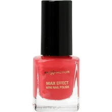 Max Colour Effect Mini Nail Polish 4.5 ml