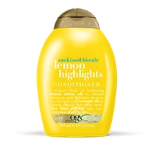 Ogx Lemon Highlights Condtioner - Sunkissed