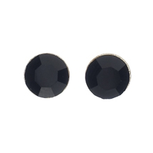 Silver Plated Round Stud Earrings