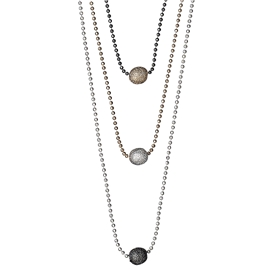 Classic Triple Chain Necklace