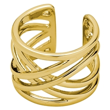 Spring Ring Gold Plated