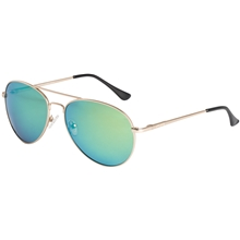 Green Pilot Sunglasses