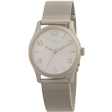 Silver Plated Mesh Watch