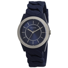 Deep Blue Silicone Watch