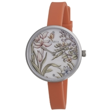 Summer Flower Silicone Watch