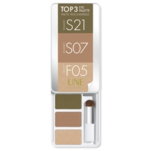 UNE Top 3 Eye Palette 1 set