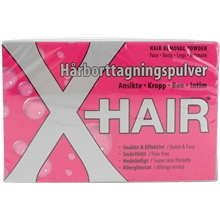 X Hair - Hair Removal Powder Kit