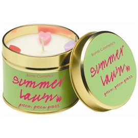 Tin Candle Summer Lawn