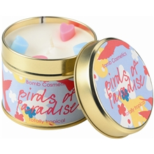 Tin Candle Birds of Paradise