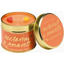 Tin Candle Nectarine & Amaretto