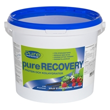 4 kg - Wild strawberry vanilla - Pure Recovery 4kg