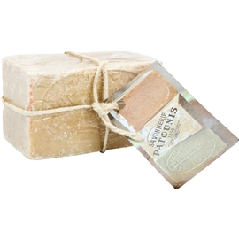 Green olive soap