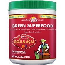 Green Superfood Acai-Gojibär