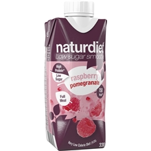 330 ml - Granaattiomena-vadelma - Naturdiet Smoothie
