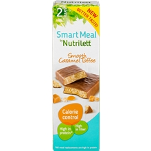 2 kpl/paketti - Karamelli - Nutrilett Smart Meal Bar 2-pack