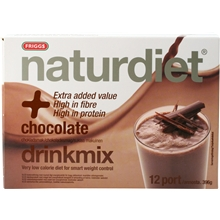 12 annosta - Chocolate - Naturdiet drinkmix