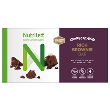 4 kpl/paketti - Brownie - Nutrilett Hunger Control Bar 4-pack