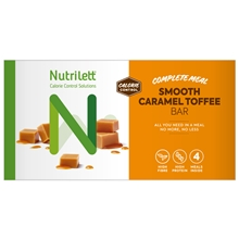 4 kpl/paketti - Caramel - Nutrilett Smart Meal Bar 4-pack