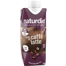 330 ml - Cafe latte - Naturdiet Shake