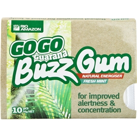 Guarana Buzz Gum