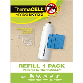 ThermaCELL hyttynen refill 1 pkt