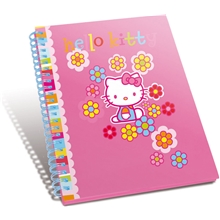 Hello Kitty Flower Vihko A5