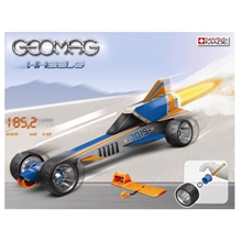 Geomag Wheels Drag Race Auto