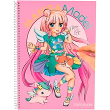 top-model-manga-model-vaerityskirja