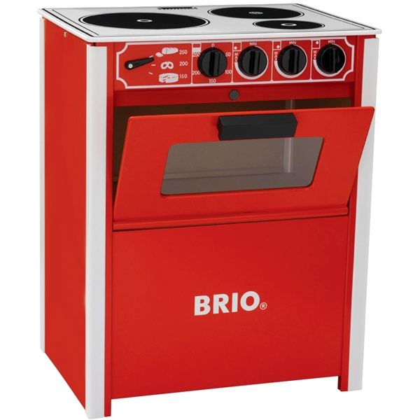 BRIO hella, punainen  Keittiö & keittiötarvikkeet  BRIO  Shopping4net