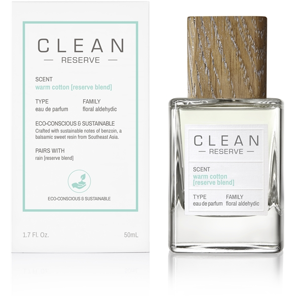 Clean Reserve Warm Cotton Reserve Blend - Edp (Kuva 2 tuotteesta 4)