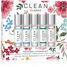 1 set - Clean Rollerball Layering Collection