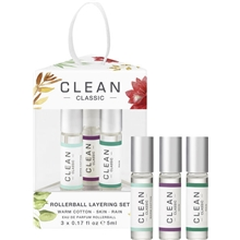 Clean Fragrance Layering Trio Gift Set