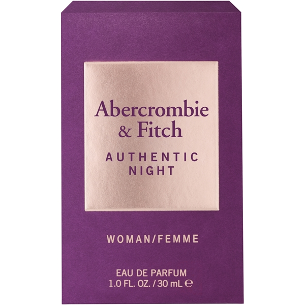 Authentic Night Women - Eau de toilette (Kuva 2 tuotteesta 2)